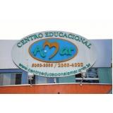 educação infantil creche endereço Vila Cordeiro